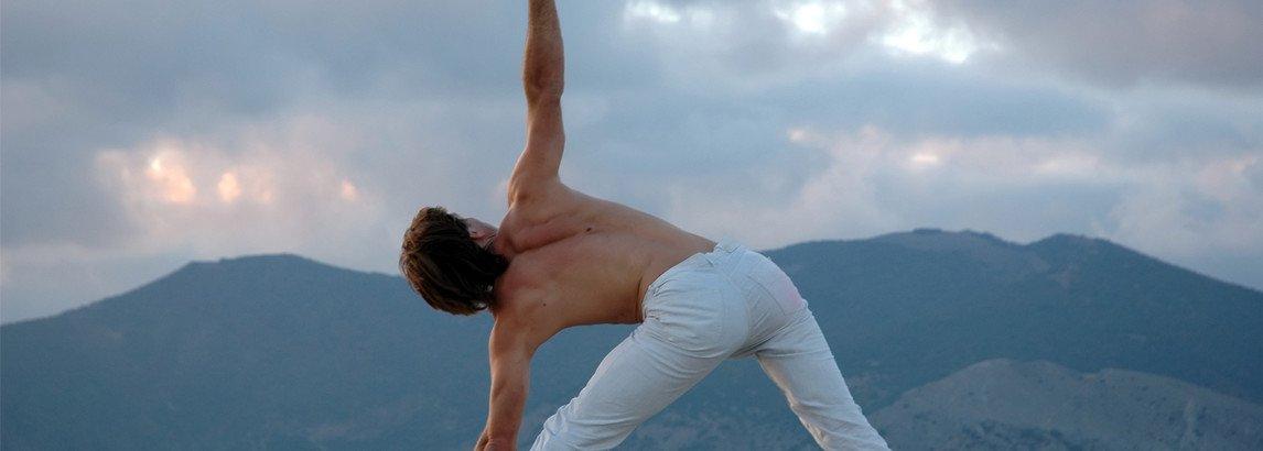 Vorteile von Yoga für Männer header