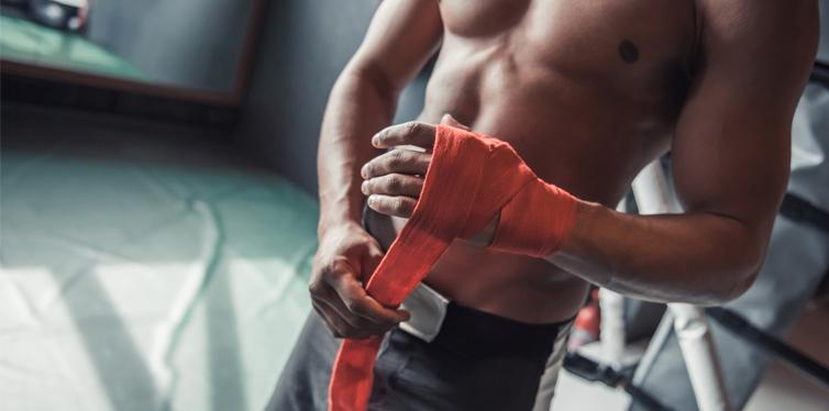 haende richtig bandagieren