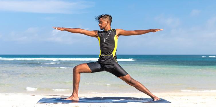 mann yoga strand