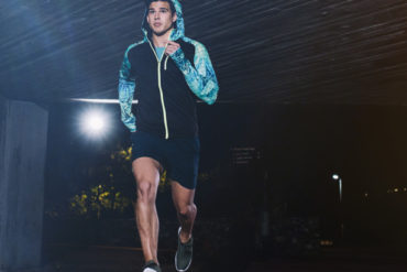 mehr sicherheit beim joggen im dunkeln