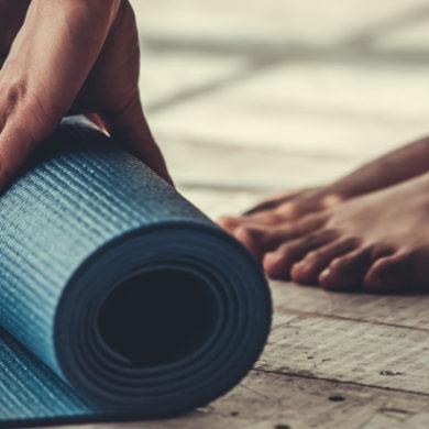 yogamatte richtig reinigen