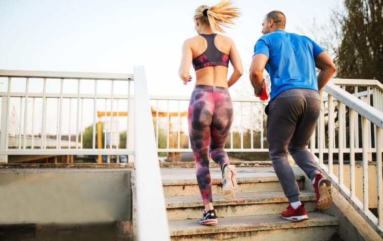 treppen workout