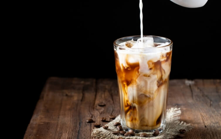 ice kaffee sommer getränk