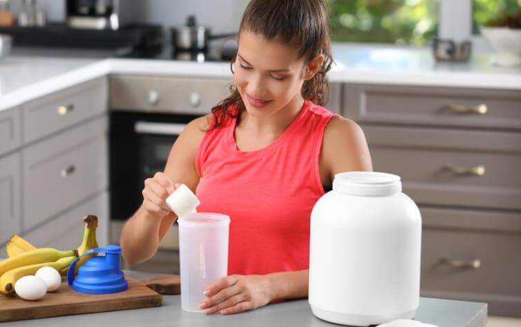 wann protein shake trinken